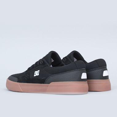 Second view of DC Switch Plus Shoes Black / Gum