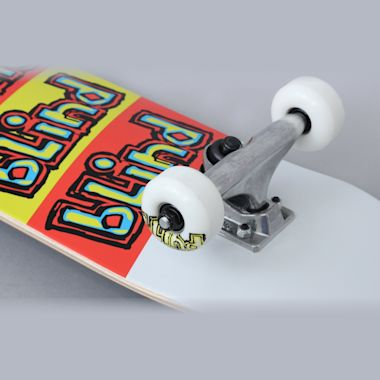 Second view of Blind 7.625 Incline FP Complete Skateboard White
