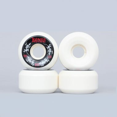Bones 55mm Annuals STF V5 Wheels White