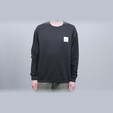 Second view of Alltimers Be Kind Crew Black