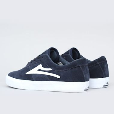 Second view of Lakai Sheffield Shoes Navy Suede