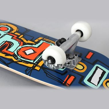 Second view of Blind 7.25 Design OG Youth Complete Skateboard Navy