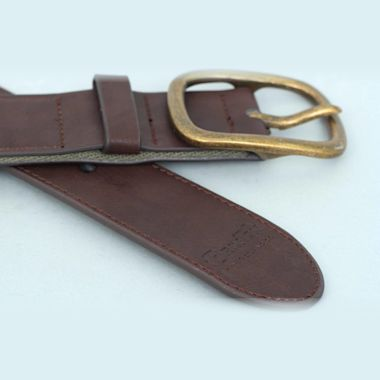 Second view of Brixton Course Belt Olive