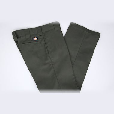 Second view of Dickies Slim 873 Work Pant Olive Green