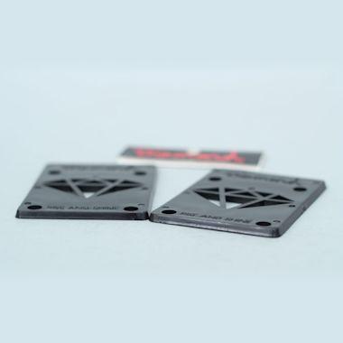 Second view of Diamond Riser Pads Black