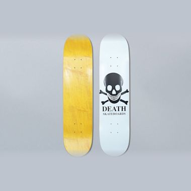Death Skateboards 8.375 OG Skull White Skateboard Deck