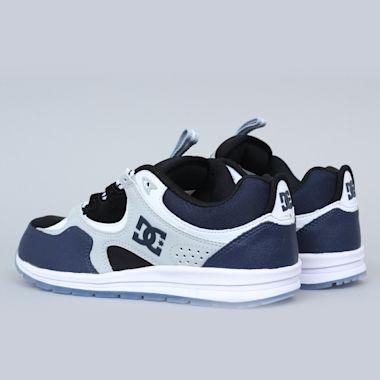 Second view of DC Kalis Lite SE Shoes Blue / Black / Grey