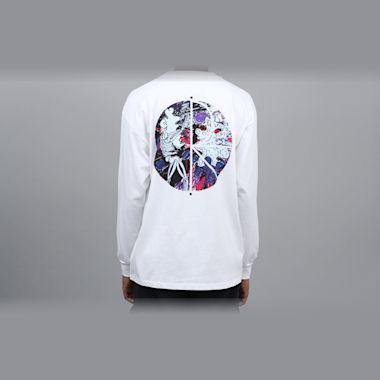 Polar Skeleton Fill Logo Longsleeve T-Shirt White