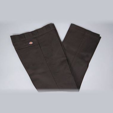 Second view of Dickies Original Fit 874 Work Pant Dark Brown