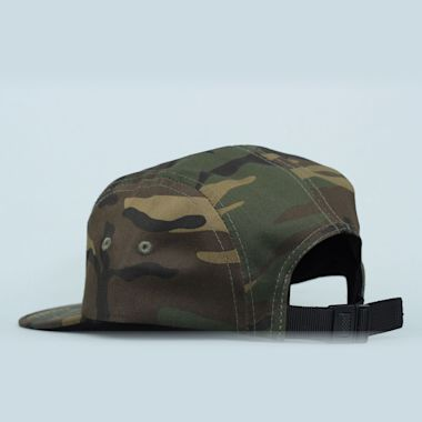 Second view of Thrasher 5 Panel Cap Camo