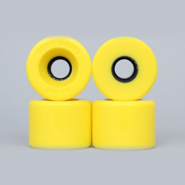 Kryptonics 60mm 76A Star Trac Cruiser Wheels Yellow