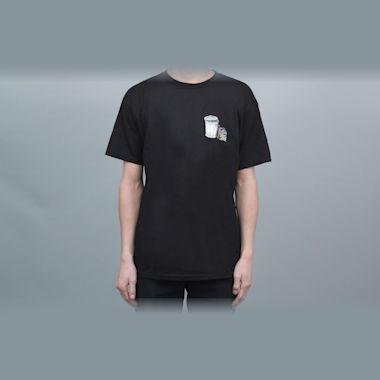 Dear Skating Garbage Cans T-Shirt Black