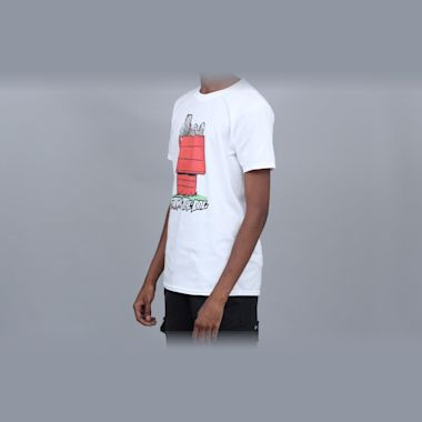 Second view of Fatman The Dog House T-Shirt White