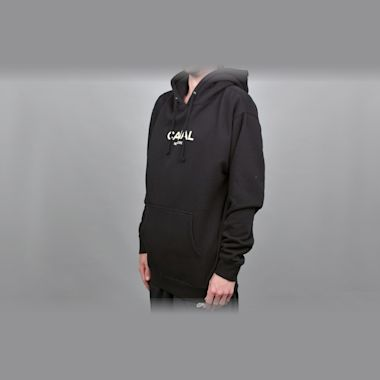 Second view of Canal Classic Logo Hood Black
