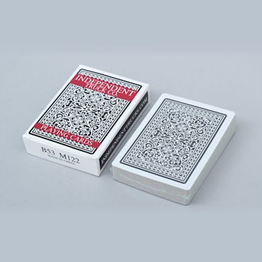 Second view of Independent 52 Card Pick Up Playing Cards
