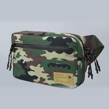 Hex Waistpack Bag Aspect Camo