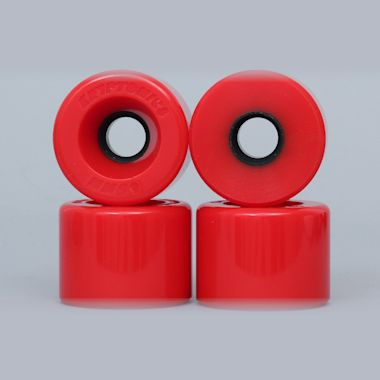 Kryptonics 65mm 78A Star Trac Cruiser Wheels Red