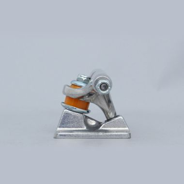 Second view of Independent 129 Stage 11 Skateboard Trucks Raw Silver (Pair)