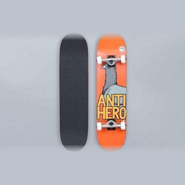 Anti Hero 7.75 Pigeon Hero Medium Complete Skateboard Orange