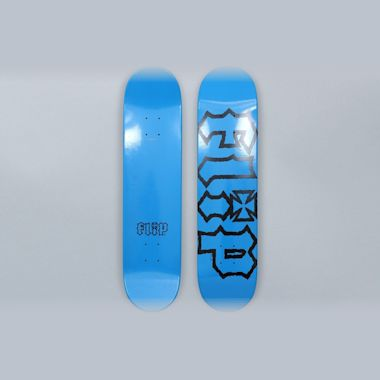 Flip 7.5 HKD Decay Skateboard Deck Blue
