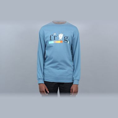 Frog Colourline Longsleeve T-Shirt Slate
