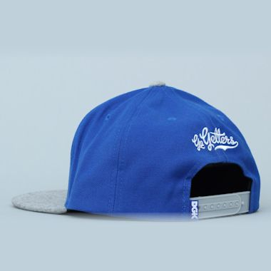 Second view of DGK Getters Snapback Cap Royal / Grey