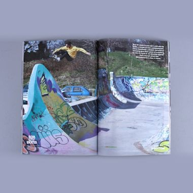 Second view of Grey Skate Mag Volume 4 Issue 5
