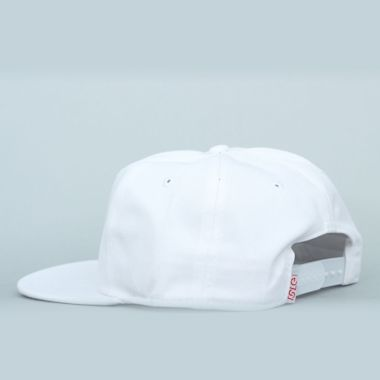 Second view of Isle Snapback White / Red