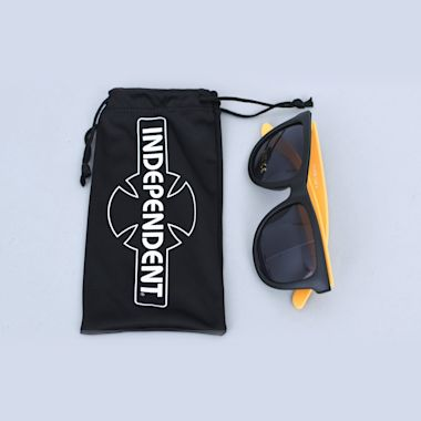 Second view of Independent Industry Sunglasses Black / Orange