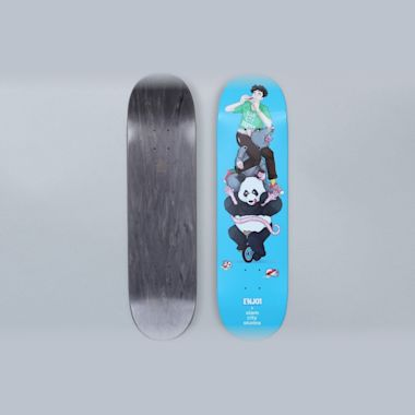 Enjoi X Slam City Skates 8.25 Raemers Skateboard Deck Blue