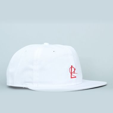 Isle Snapback White / Red