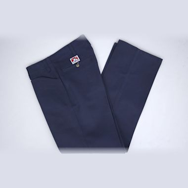 Second view of Ben Davis Trim Fit Pants Navy