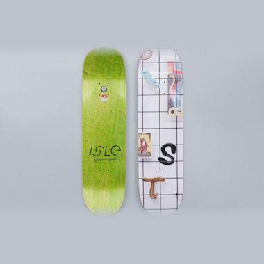 Isle 8.5 Grid Series Tognelli Skateboard Deck