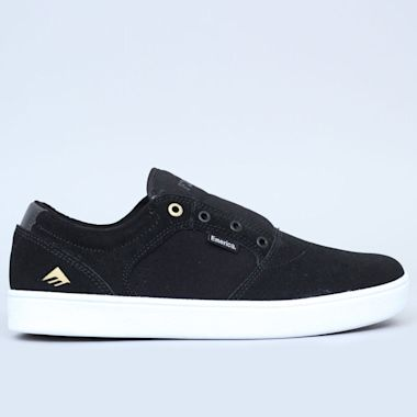 Emerica Figgy Dose Shoes Black / White / Gold