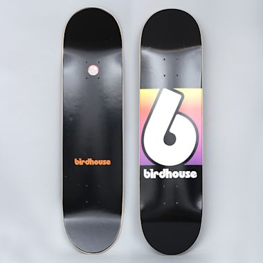 Birdhouse 8 Block Logo Skateboard Deck Black