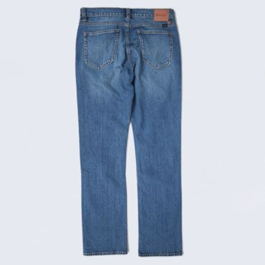 Second view of Brixton Labor 5 Pocket Denim Pants Worn Indigo