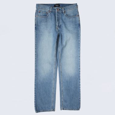 Brixton Labor 5 Pocket Denim Pants Faded Indigo
