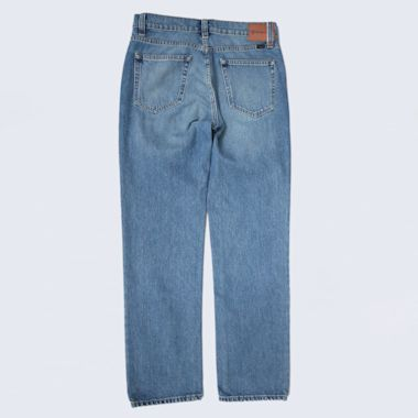 Second view of Brixton Labor 5 Pocket Denim Pants Faded Indigo