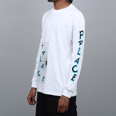 Second view of Palace Griddle Longsleeve T-Shirt White