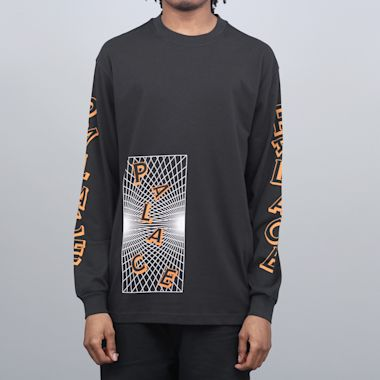Palace Griddle Longsleeve T-Shirt Black