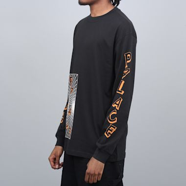 Second view of Palace Griddle Longsleeve T-Shirt Black