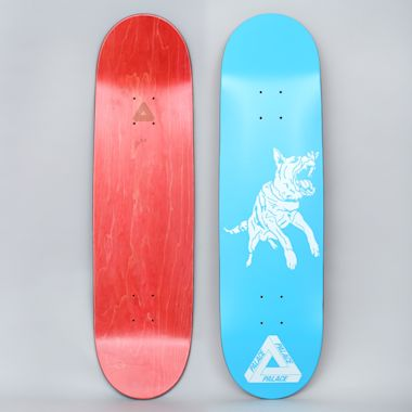Palace 8.6 Dog Skateboard Deck Blue