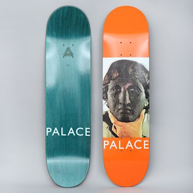 Palace 8.1 Nicked Skateboard Deck Orange