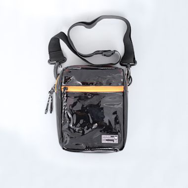 Hex Festival Crossbody Pouch Bag Black