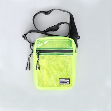 Hex Festival Crossbody Pouch Bag Yellow