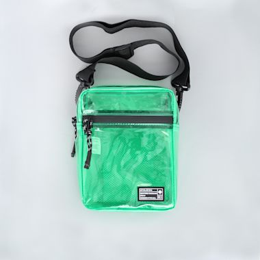 Hex Festival Crossbody Pouch Bag Green