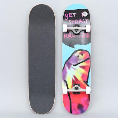 Krooked 8 Shmoo Tie Dye Large Complete Skateboard