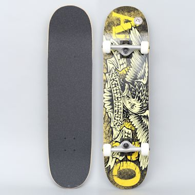 Anti Hero 7.75 Hesh Eagle Medium Complete Skateboard Yellow