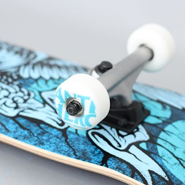 Second view of Anti Hero 7.5 Hesh Eagle Small Complete Skateboard Blue