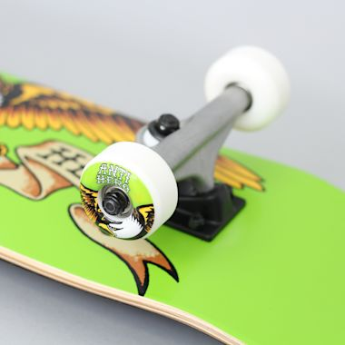 Second view of Anti Hero 7.5 Team Eagle Small Complete Skateboard Green
